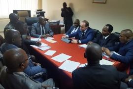 Visite officielle du Directeur de la passation des marchés de la Banque Mondial pour l'Afrique centrale et occidentale à l'Autorité de Régulation des Marchés Publics(ARMP)