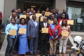 Rideaux sur la formation en passation des marchés publics organisée au profit de la CGPMP de la RVA