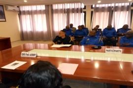 Clôture de la session de formation approfondie sur les nouvelles procédures nationales de passation des marchés publics au profit de la CGPMP  de la Police Nationale Congolaise