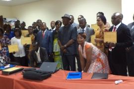 Fonds National de Promotion et de Service Social : 19 brevets remis aux cadres et agents formés sur la passation des marchés publics